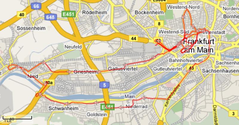 Bericht Vom Frankfurt Marathon 2007 Berlin Wir Kommen